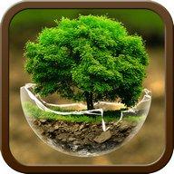 ग्रीन प्रकृति एचडी थीम: एंड्रॉइड थीम