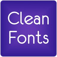 Fonts Clean for FlipFont® Free