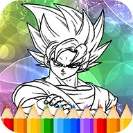 Coloring Book - dragon ball supers