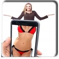 X-Ray Camera Body Cloth Scanner Prank Men Women