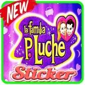 Stickers de la Familia Peluche Para WhatsApp
