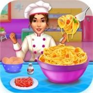 Make pasta cooking kitchen