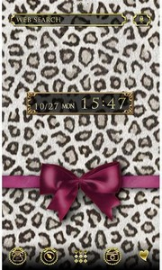 Fashion Theme Leopard & Ribbon