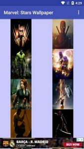Marvel: Stars Wallpaper