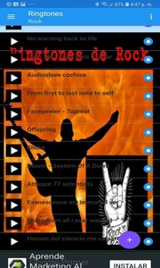 Ringtones de Rock
