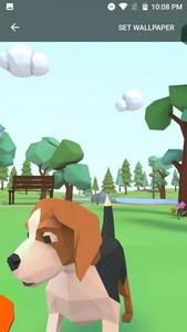 3D Cute puppy theme&Lovely dog wallpaper