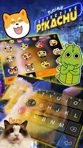 Pokémon Detective Pikachu Keyboard