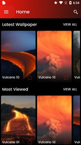 Vulcano Wallpaper HD