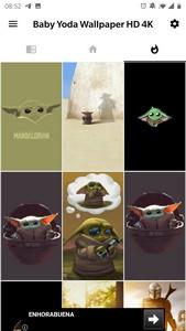 Baby Yoda Wallpaper HD 4K – The Mandalorian