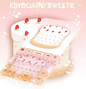 Sweetie Theme For GO Keyboard