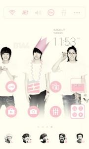 B1A4 LINE Launcher Theme