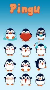 GO Keyboard Pingu Sticker
