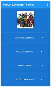 Marvel Keyboard Themes