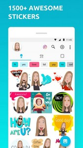 Mirror Avatar Maker & Emoji Sticker Keyboard