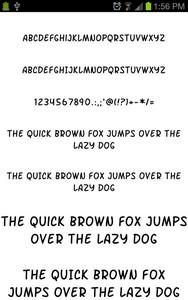 Fonts for Galaxy FlipFont Free