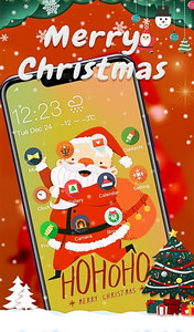 Cute Santa Claus Theme | Xmas Merry Christmas