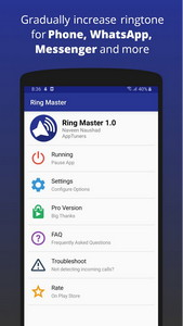 Ring Master - Increasing Ringtone Volume