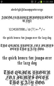 Royal Fonts for FlipFont free