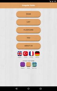 Verbes Irreguliers Anglais Android App Apk Com Gedev Irregular Par Gedev Telecharger Sur Phoneky