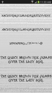 Fonts Style for FlipFont® Free