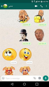 Neue Aufkleber für Chating   Stickers for WhatsApp Android App APK ...