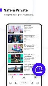 Uc Browser Turbo Unduhan Video Cepat Aman Android Apl Apk Com Ucturbo Oleh Ucweb Singapore Pte Ltd Download Di Phoneky