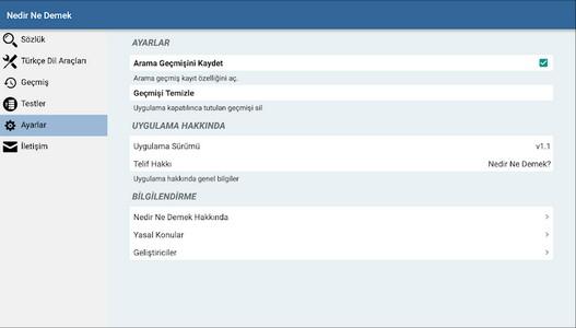 Nedir Ne Demek (Türkçe Sözlük) Android التطبيق APK  (com.nebulasoftware.nedirnedemek) بواسطة OnlineBilet.com - تحميل علىPHONEKY