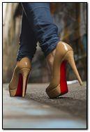 Girl in heels