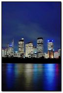 Australian city night