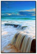 Sea-Wave-Waterfall