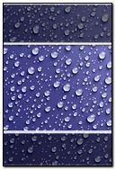 Blue Dews - Lock Screen - iP4