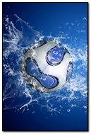 Blue HD football