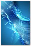 Abstract Blue Swirls