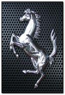 Ferrari Steel Logo