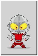 Cartoon Ultraman