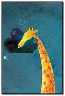 Giraffe and pillow