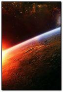 Outer Space Landscape