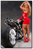 Bicicleta da menina