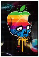 Apple Logo Skull
