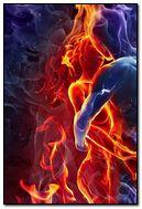 Fire Kiss Man