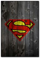 superman-wooden