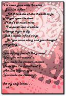 4 U my only lovee...