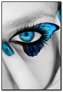 eye butterfly iphone wallpaper