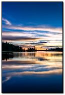 Lake-reflecting-the-evening-sky