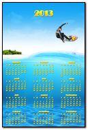 Surfing Calendar
