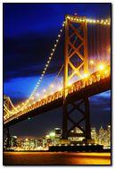 Bay Bridge Sunset San Francisco