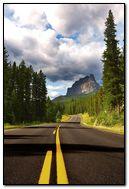 Route to Mountain