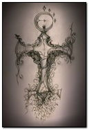 Gothic Cross Design