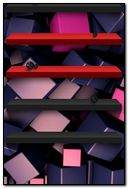 Abstract Cube Shelves