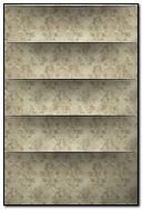 Canvas Paper Shelves